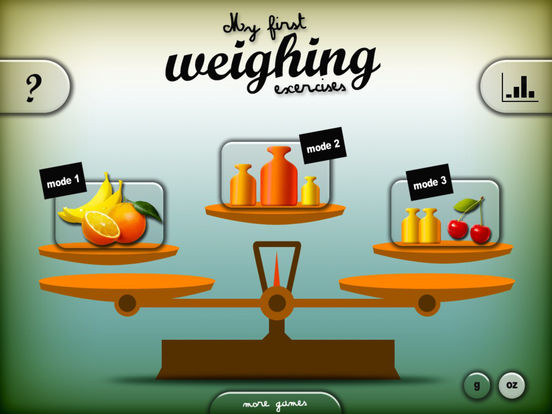 My first weighing exercises HD iPad Screenshot 3