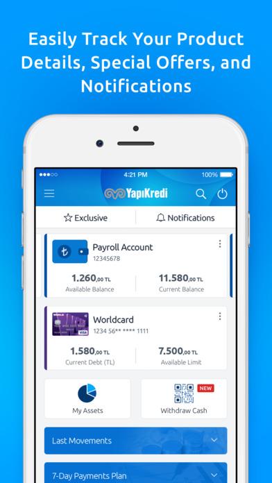 Yapı Kredi Mobile screenshot