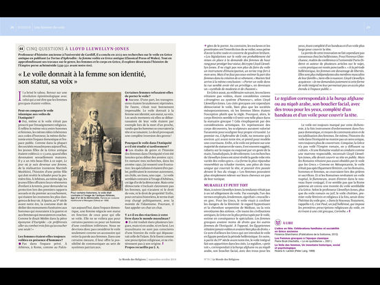 Le Monde des Religions iPad Screenshot 2