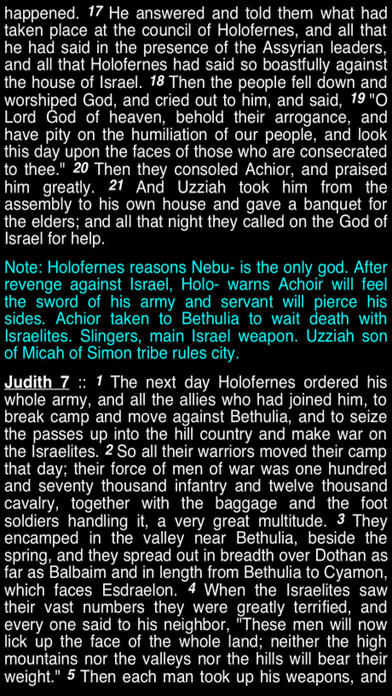 Summary Old Testament Apocrypha (Part 4) iPhone Screenshot 4