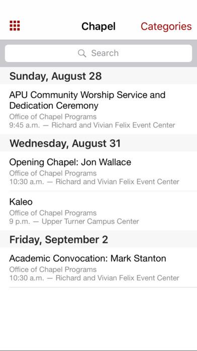 APU Mobile iPhone Screenshot 5