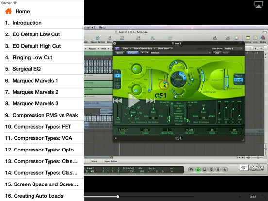 MPV's UltraBeat Drum Machine Tutorials iPad Screenshot 2
