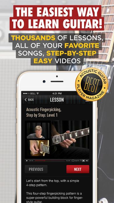 Guitar Lessons by Guitar Tricks app image