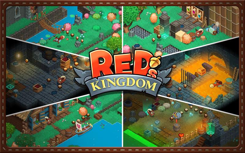松鼠王国 Red's Kingdom for Mac 1.1 激活版 – 滚滚的冒险之旅-麦氪派