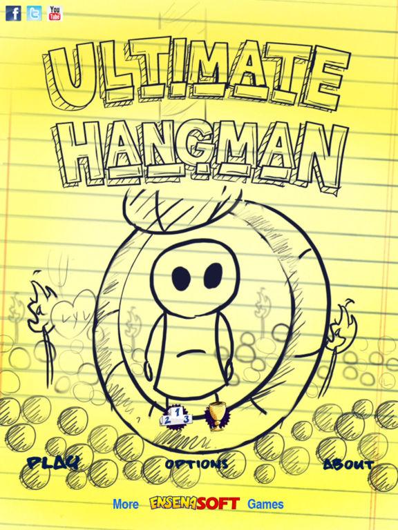Doodle Hangman Free на iPad