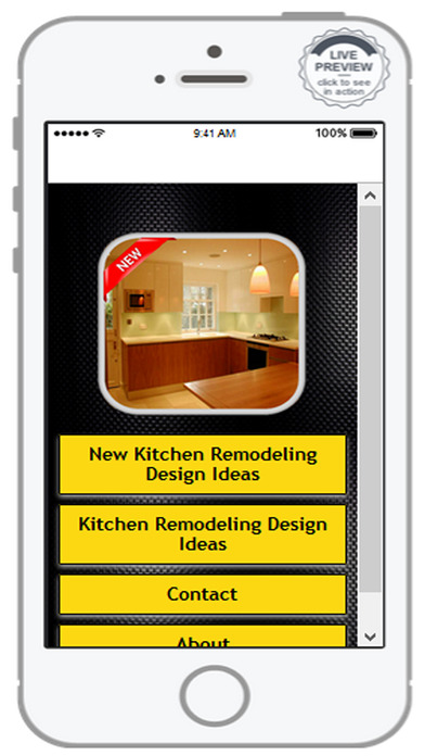 App shopper kitchen remodeling design ideas lifestyle for Kitchen ideas app
