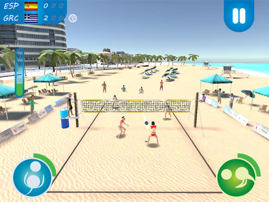 Beach Volleyball 2016 для iPad