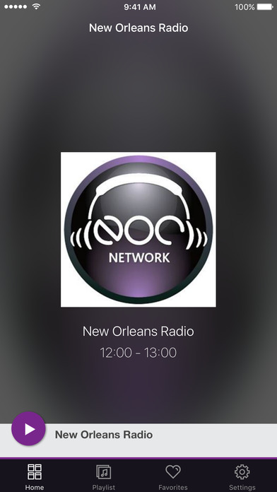 New Orleans Radio screenshot 1