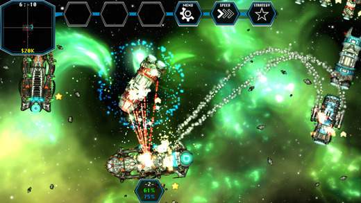 Space Borders: Alien Encounter Screenshot