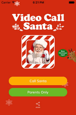 Video Call Santa Claus Christmas Pro - Catch Wish screenshot 1