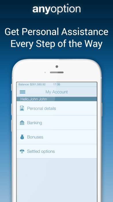Option trading iphone app