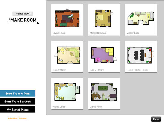 Urban barn room planner on the app store for 3d room planner ipad
