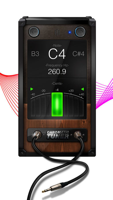 Chromatic Guitar Tuner - Ukulele, Guitar, Bass Screenshot