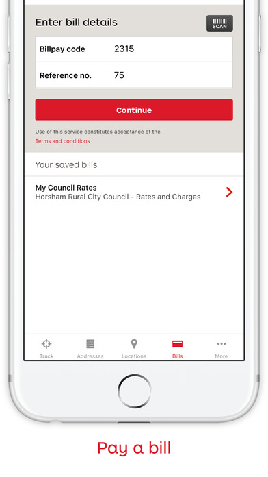 Australia Post Mobile iPhone Screenshot 3
