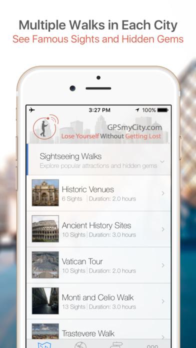 Tunis Map and Walking Tours iPhone Screenshot 1