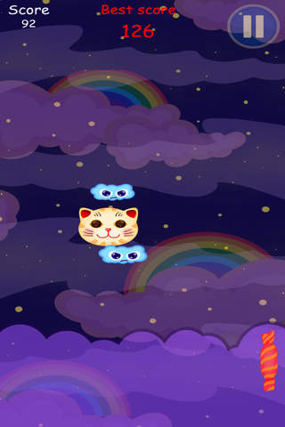 Kawaii Neko - Moon Cakes Shooting screenshot 1