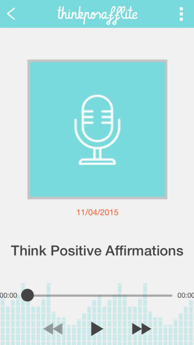 Think Positive Affirmations Lite iPhone Screenshot 2
