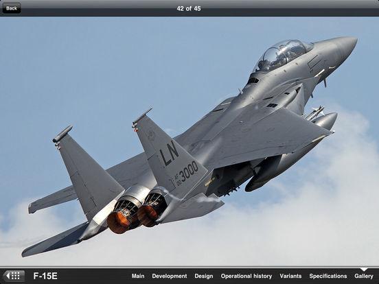 U.S. Military Aircraft Appreciate Guide iPad Screenshot 5