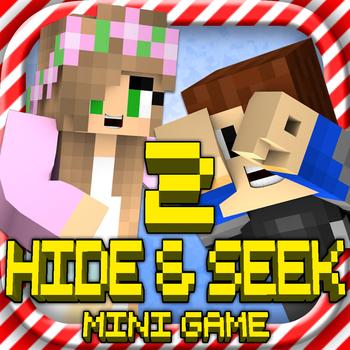 HIDE & SEEK 2: MC Survival Hunter Mini Block Game with Multiplayer