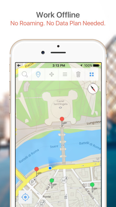 Glasgow Walking Tours and Map iPhone Screenshot 2