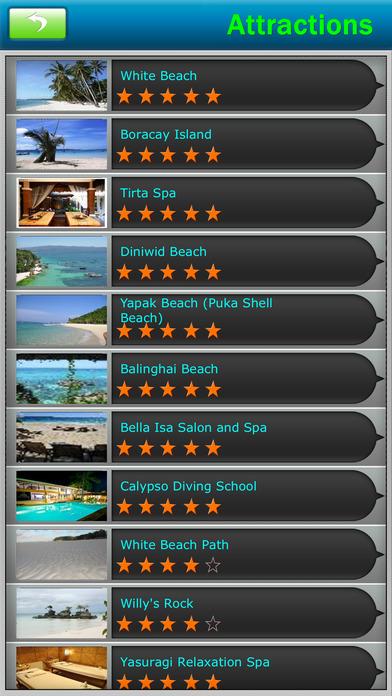 Boracay Island Offline Map Travel Guide screenshot 3