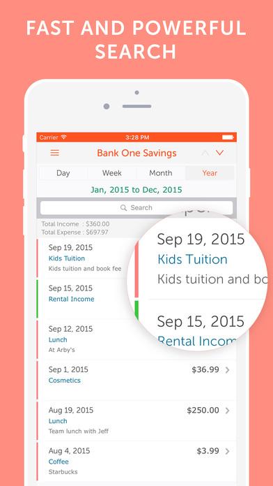 Easy Spending - Expense tracker, Save Money Screenshots