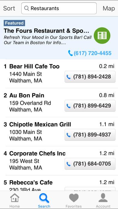 Dex Mobile iPhone Screenshot 2