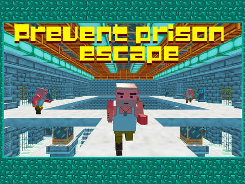 Police Escape Prison Chase 3D screenshot 4