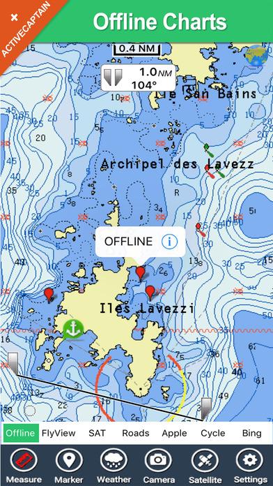 Archipielago de Cabrera National Park - GPS Map Navigator iPhone Screenshot 2