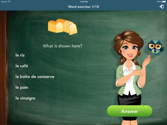 French Class iPad Screenshot 3