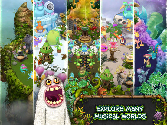 Screenshots of My Singing Monsters for iPad