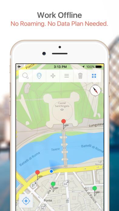 Copenhagen Map and Walking Tours iPhone Screenshot 2