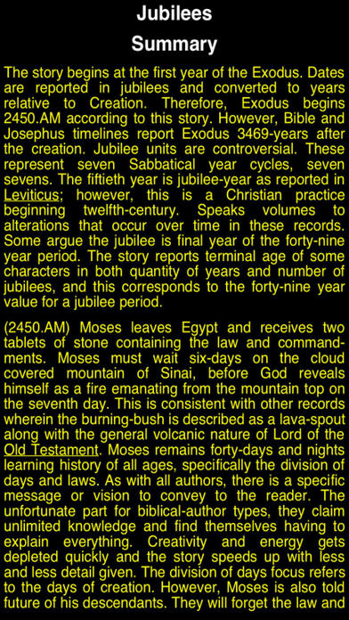 Summary Pseudepigrapha Books (part-5) iPhone Screenshot 3