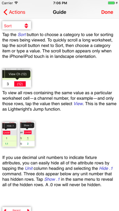 Lightwright Touch iPhone Screenshot 2