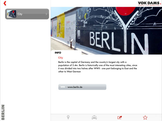 Berlin Guide iPad Screenshot 3