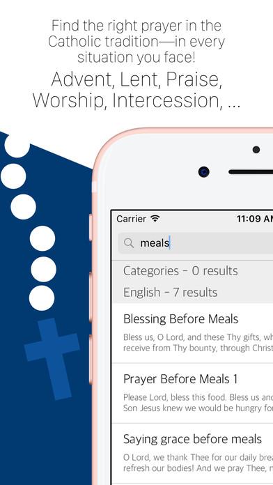 Prayer 2000+ Catholic Prayers by DivineOffice.org iPhone Screenshot 2