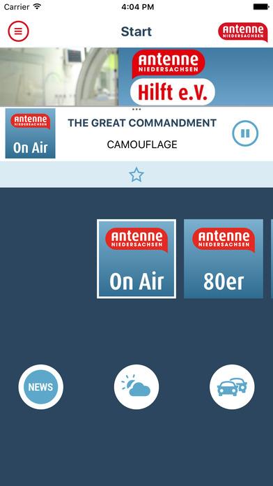 Hit-Radio Antenne Niedersachsen iPhone Screenshot 2