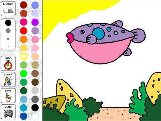 Aquarium Coloring ~Ocean Life~ iPad Screenshot 4