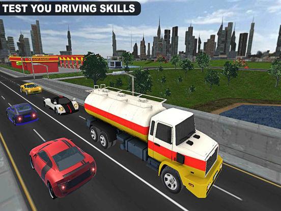 Drive City Oil Transporter Truck Pro screenshot 10
