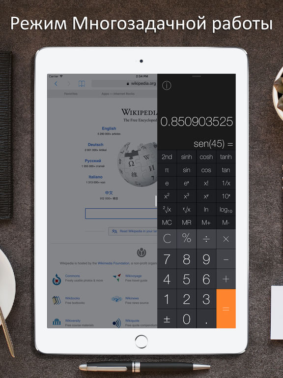Калькулятор Pro iRocks Скриншоты8