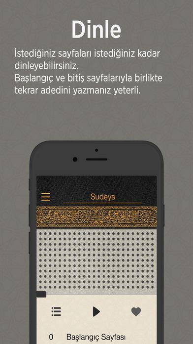 Kur'an iPhone Screenshot 2