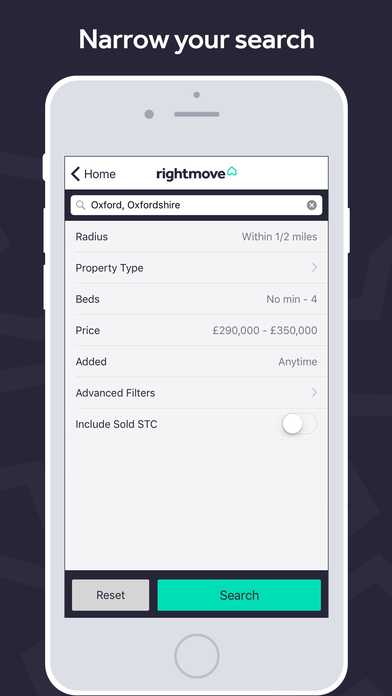 Rightmove App iPhone Screenshot 3