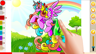 Pony Coloring Game For My Girl and Little Kids screenshot 2
