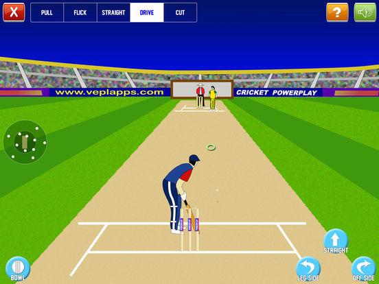 Cricket Power-Play iPad Screenshot 1