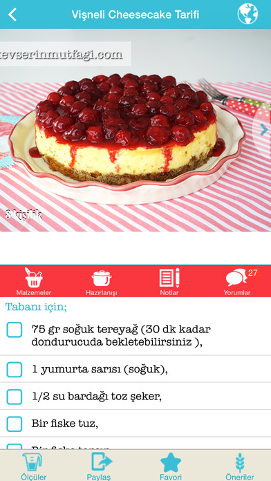 Tarif Küpü - Yemek Tarifleri screenshot