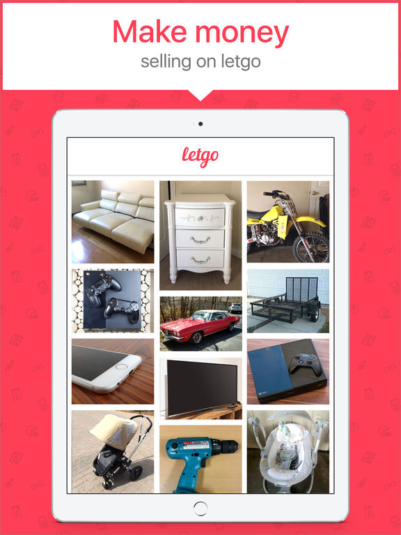 Screenshots of letgo: Buy & Sell Used Stuff for iPad