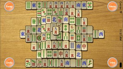 Screenshot 1 Mahjong Classic — A Mahjong Solitaire Game