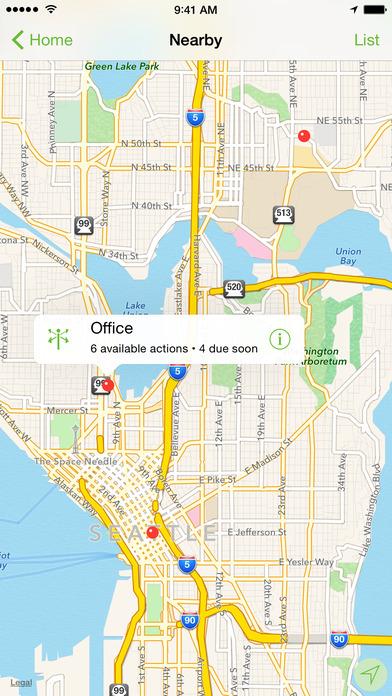OmniFocus 2 Aplicaciones gratuito para iPhone / iPad screenshot
