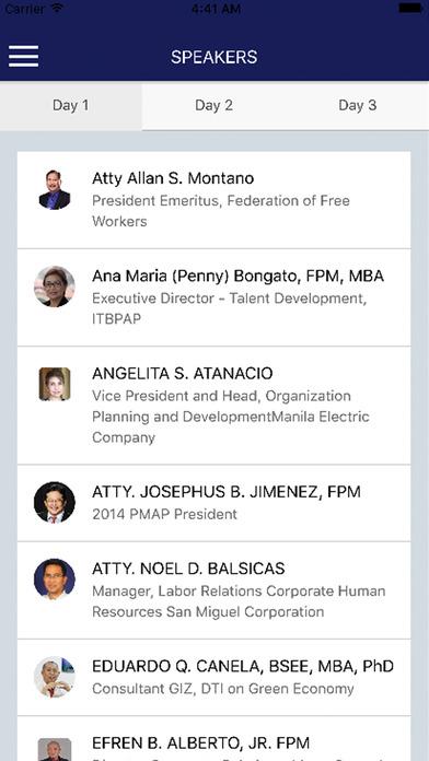 PMAP Conference 2016 screenshot 4