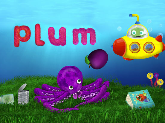 Tiggly Submarine: Preschool ABC Game. Скрин 4